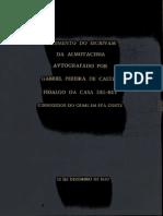 PORTUGAL.. Leis, decretos, etc. Ordenações Filipinas Regimento do escrivam da almotaceria conforme a nova reformação das Ordenações do Reino