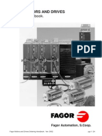 FAGOR Motors and Drives Handbook