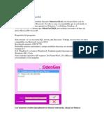 OdonGesA Manual Usuario