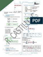 Formulario Para Concreto Armado Hecho Por r. Castillo c.
