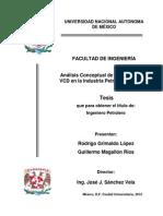 Análisis de La Metodología VCD en La Industria Petrolera Mexicana (1)