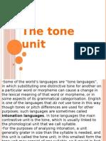 The Tone Unit