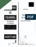 Princip. de Filosofia