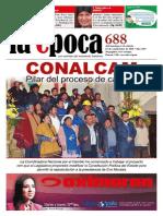 Nº 688 - Especial Reelección Evo Morales - Septiembre 2015