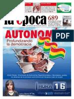 Nº 689 - Autonomías - Septiembre 2015