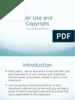 et 247fair use and copyright presentation