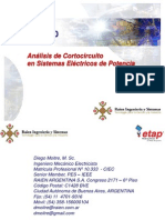 Análisis de Cortocircuito_ETAP 11