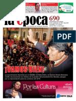 Nº 690 - Especial Proyecto Reelección Evo Morales - Septiembre 2015