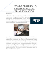 Proyectos de Desarrollo Territorial_conectadel Argentina