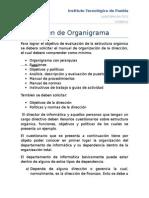 1. Examen Del Organigrama