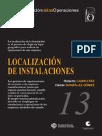 Localizacion instalaciones