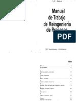 Manual de Trabajo de Reingenieria de Procesos
