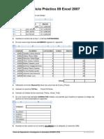 Ej Practico 9 Excel