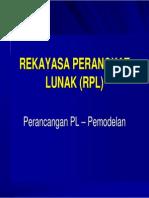 RPL Bab5 Perancangan Pemodelan