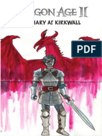 Dragon Age 2 - A Diary at Kirkwall