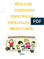 Niños Con Necesidades Específicas Especiales en México