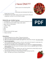 strawberrys have dna - student instructions