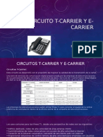 Circuito T-carrier y E-carrier