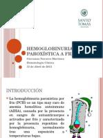 Hemoglobinuria Paroxística a Frigore