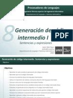 Generacion De Codigo Intermedio Unidad 2