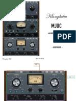 MJUC Manual
