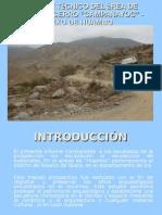 Informe técnico del área Cerro campanayoc - rosario de yauca, Ica
