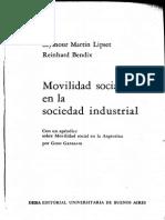Movilidad Social Gino Germani 1962