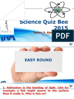 Science Quiz Bee 2015.pptx