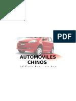 Imagen de autos chinos en la ciudad de Concepción