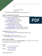 Usos Del Subjuntivo