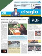 Edicion Impresa El Siglo 28-09-2015
