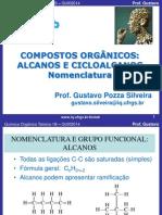 Aula8-9 Nomenclatura Compostos Organicos