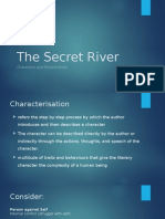 week three lesson two the secret river characterisation and close reading of the text