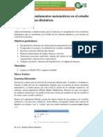 P1 Fundamentos Matemáticos en El Estudio de Los Sistemas Dinámicos