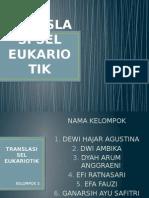 3. Translasi Sel Eukariotik