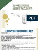 Convertidores D/A y A/D (Analógico- Digital)