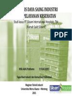 Analisis Industri - Jasa Kesehatan (Rifki Adhi P - 55314110001)