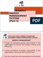 Sustainable Energy Management (Part 1) 1516