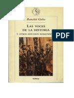 Guha, Ranahit - 1983 - Las Voces de La Historia y Otros Estudios Subalternos