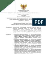 Permen PU No. 07-2013 Ttg Pedoman Pemberian Izin Penyelenggaraan Pengembangan SPAM Oleh Badan Usaha n Masy.