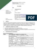 Silabo Bioquimica 2015 II  UNALM