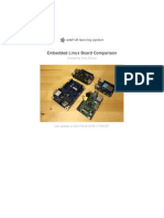 Embedded Linux Board Comparison