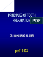 Lecture 6- Principles of Tooth Prep