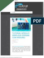Tutorial Módulo Wireless ESP8266 Com Arduino _ Blog FILIPEFLOP