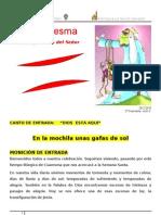 Guión 2º DOMINGO CUARESMA 2010