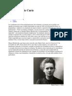 Pierre y Marie Curie 1