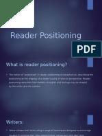 reader positioning