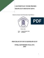 Model Konsep Teori Keperawatan Imoge King