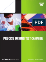 PRECISE DRYING TEST CHAMBER