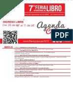 Agenda Cultural FIL Arequipa 2015